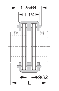 Delrin Coupling Chain